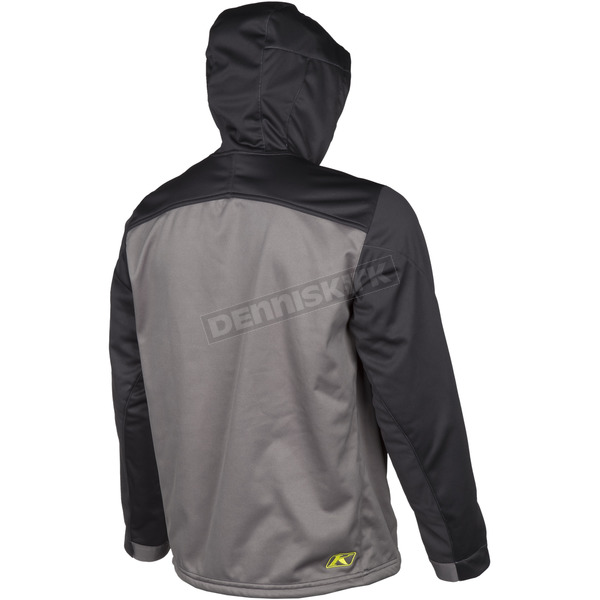 Klim Black/Gray Transition Hoody - 3785-000-120-000