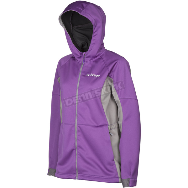 Klim Women's Purple/Gray Evolution Hoody - 3788-000-120-790