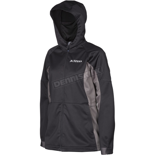 Klim Women's Black/Gray Evolution Hoody - 3788-000-160-000
