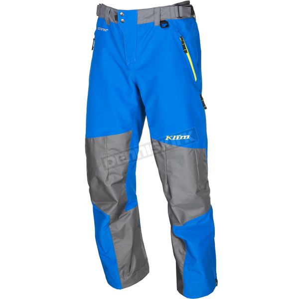 Klim Blue/Gray Powerhawk Pants-Bibs - 3903-000-140-200