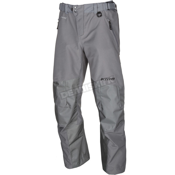 Klim Gray Powerhawk Pants-Bibs - 3903-000-160-600