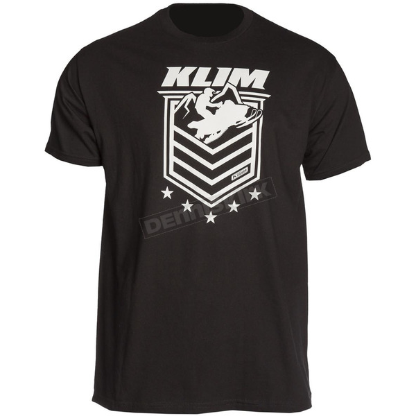 Klim Black The General T-Shirt - 3951-000-160-000