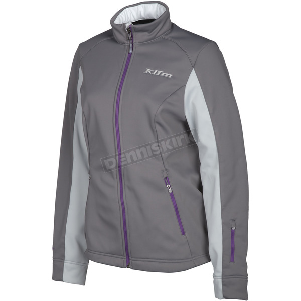 Klim Women's Dark Gray Whistler Jacket - 4023-002-140-660