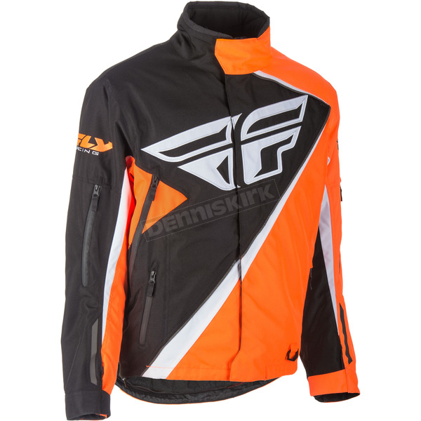 Fly Racing Youth Orange/Black SNX Jacket - 470-4078YL