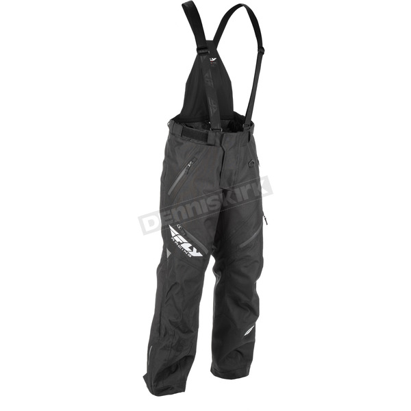 Fly Racing Black SNX Bibs - 470-2060LT