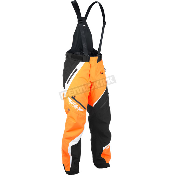 Fly Racing Orange/Black SNX Bibs - 470-2068XT
