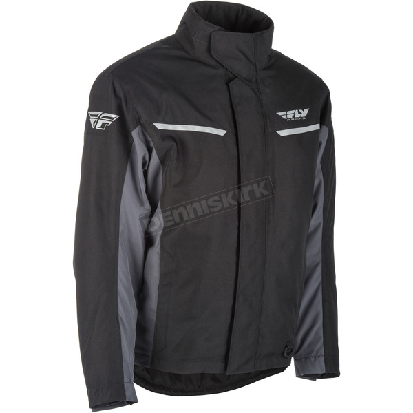 Fly Racing Black/Gray Aurora Jacket - 470-4060M