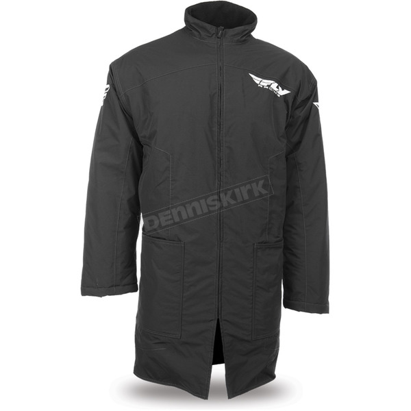 Fly Racing Black Pit Coat - 470-4050