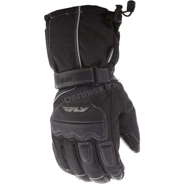 Fly Racing Black Aurora II Gloves - 363-38913X