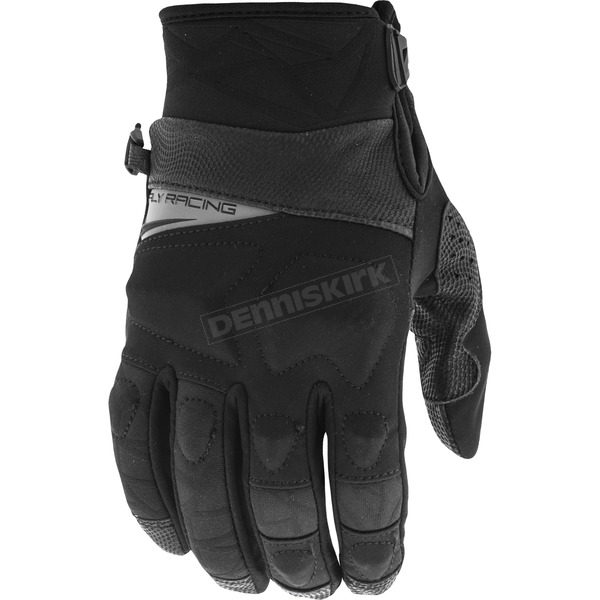 Fly Racing Black Boundry Gloves - 371-03012