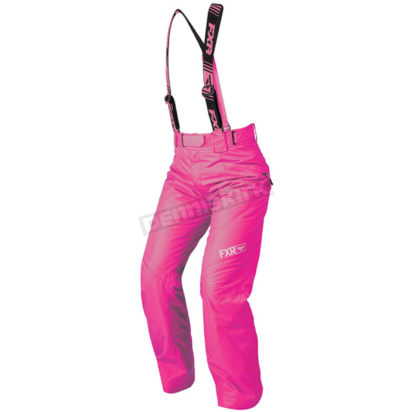 FXR Racing Women's Electric Pink Fresh Pants - 180302-9400-04