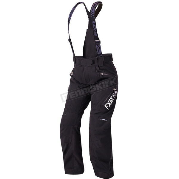 FXR Racing Women's Black Renegade Pants - 180305-1000-12