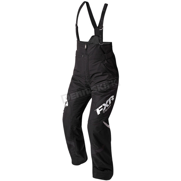 FXR Racing Women's Black Team Pants - 180301-1000-14