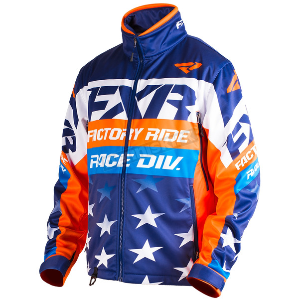FXR Racing Kamm Le Stars and Stripes Cold Cross Race Ready Jacket - 180032-4523-13