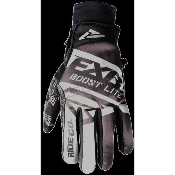 FXR Racing Black Boost Lite Glove - 180809-1000-19