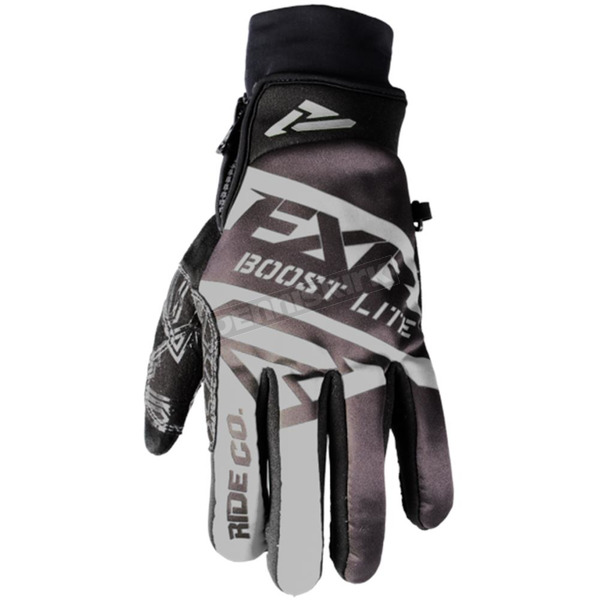 FXR Racing Black Boost Lite Glove - 180809-1000-10
