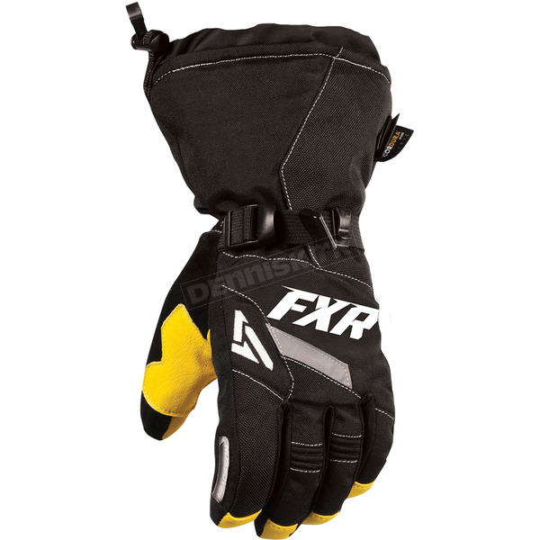 FXR Racing Black CX Gloves - 15607.10004