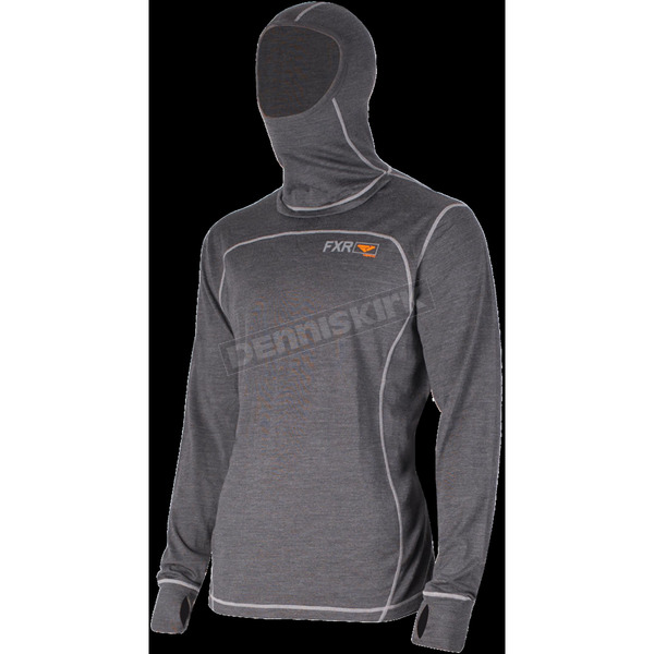 FXR Racing 50% Merino Vapour Balaclava Long Sleeve Shirt - 181318-0830-22