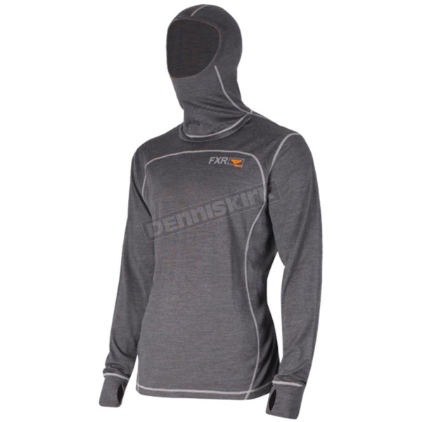 FXR Racing 50% Merino Vapour Balaclava Long Sleeve Shirt - 181318-0830-19