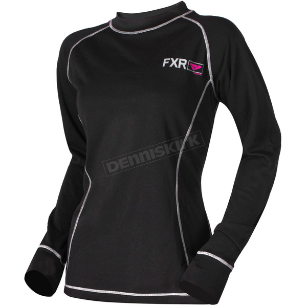 FXR Racing Women's 20% Merino Vapour Long Sleeve Shirt - 181417-1090-10