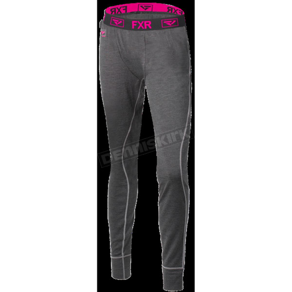 FXR Racing Women's 50% Merino Vapour Pants - 181415-0890-07
