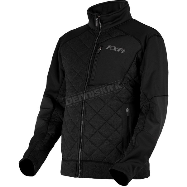 FXR Racing Burner Sherpa Tech Zip-Up Jacket - 180901-1010-19