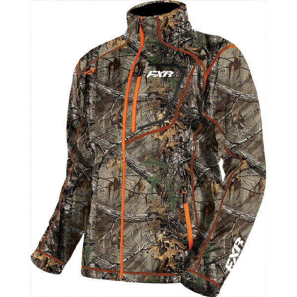 FXR Racing Realtree Xtra/Orange Elevation Tech Zip Up - 181100-1630-19