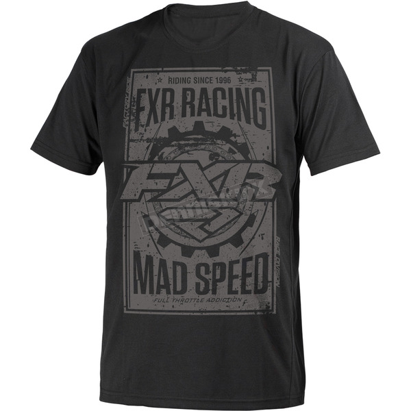 FXR Racing Black Ops Mad Speed T-Shirt - 181302-1010-19
