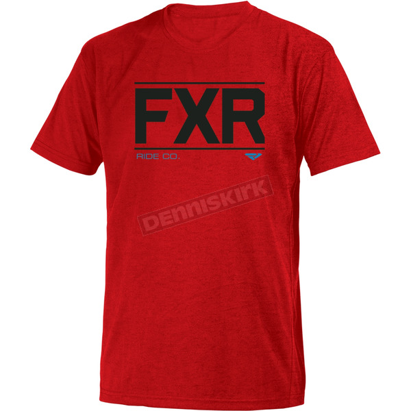 FXR Racing Red Ride Co. T-Shirt - 181305-2000-16