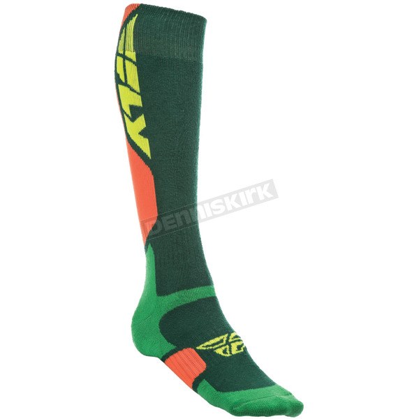 Fly Racing Green MX Pro Thick Socks - 350-0405L