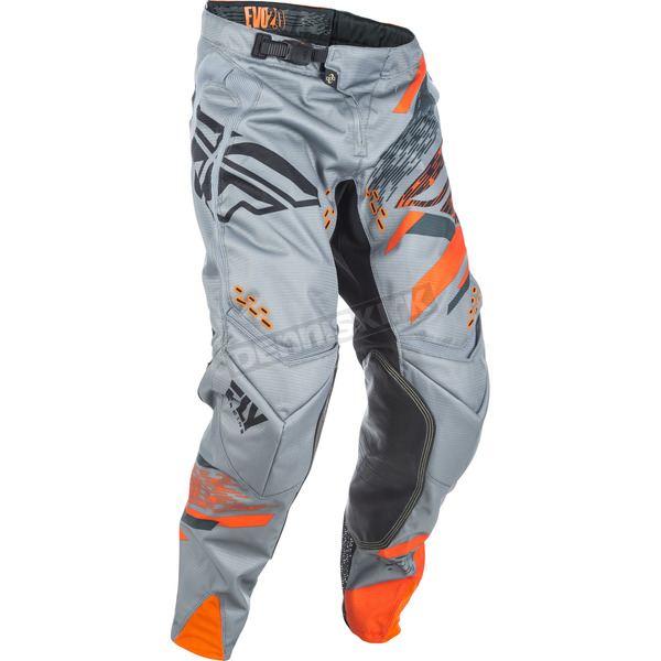 Fly Racing Gray/Orange Evolution 2.0 Pants - 371-23834