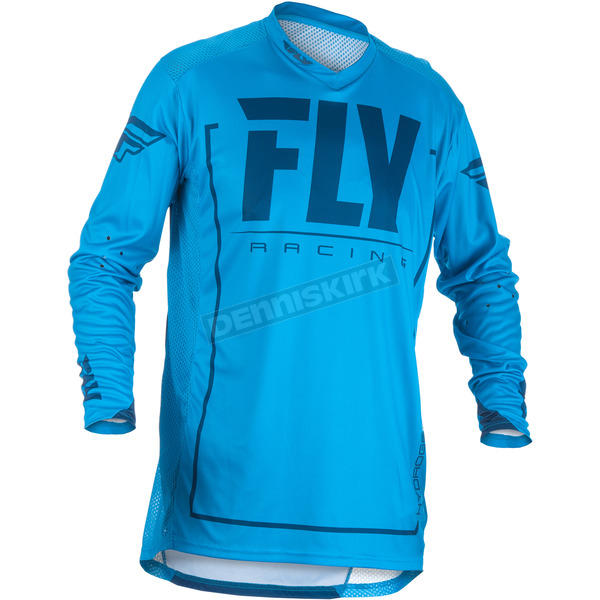 Fly Racing Blue/Navy Lite Hydrogen Jersey - 371-721L