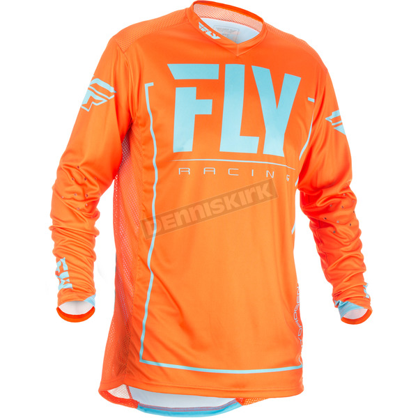 Fly Racing Orange/Blue Lite Hydrogen Jersey - 371-728M