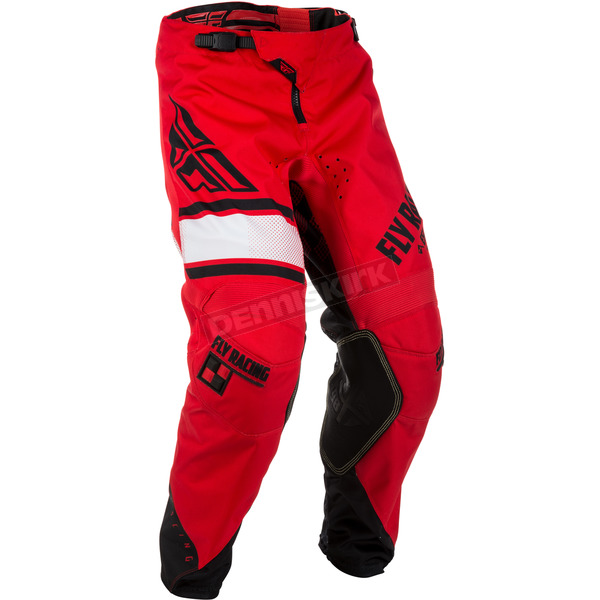 Fly Racing Youth Red/Black Kinetic Era Pants - 371-43220