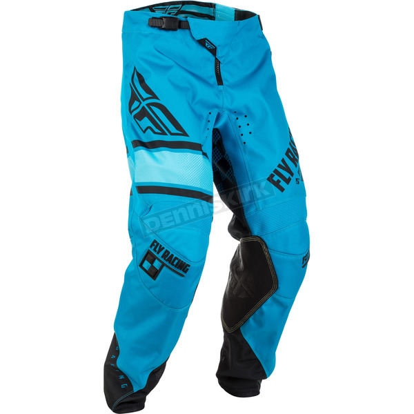 Fly Racing Youth Blue/Black Kinetic Era Pants - 371-43122