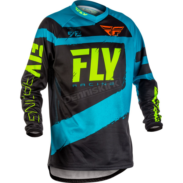Fly Racing Blue/Black F-16 Jersey - 371-921X