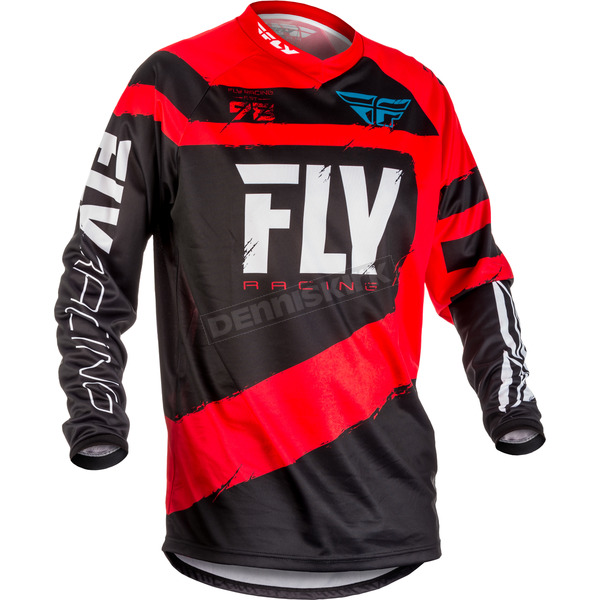 Fly Racing Red/Black F-16 Jersey - 371-922M