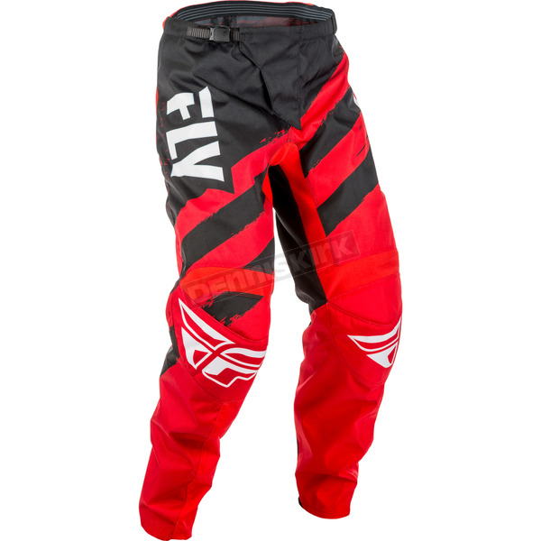 Fly Racing Youth Red/Black F-16 Pants - 371-93222