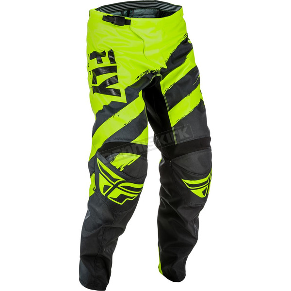 Fly Racing Black/Hi-Vis F-16 Pants - 371-93934