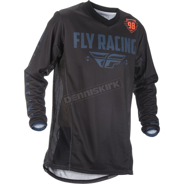 Fly Racing Black/Gray/Orange Patrol Jersey - 371-6493X