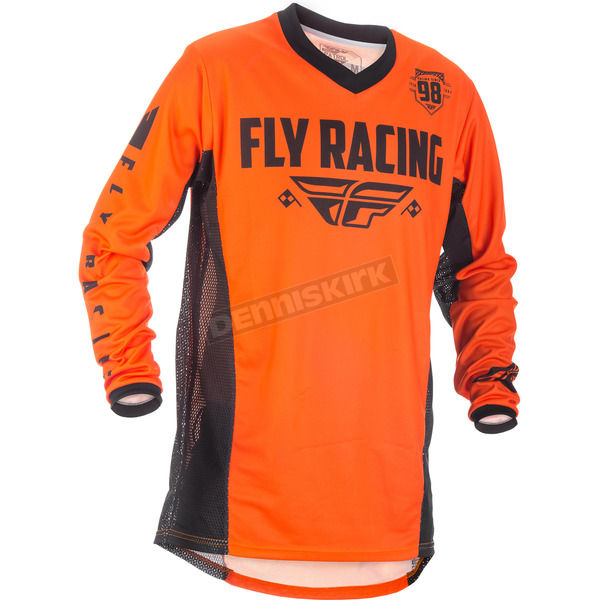 Fly Racing Orange/Black Patrol Jersey - 371-640L