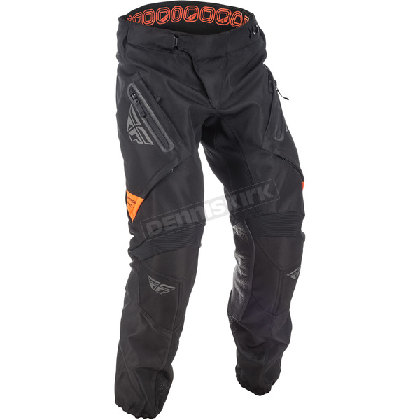 Fly Racing Black/Orange Patrol XC Pants - 371-92040