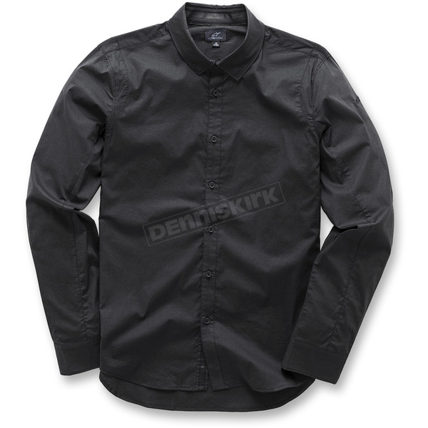 Alpinestars Black Ambition Long Sleeve Shirt - 103731004102X