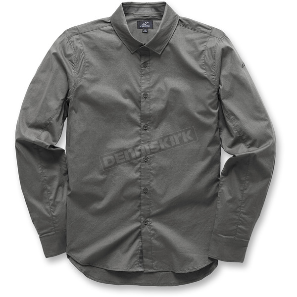 Alpinestars Gray Ambition Long Sleeve Shirt - 10373100418M
