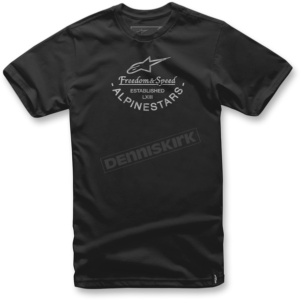 Alpinestars Black And T-Shirt - 1037-72026-10-M