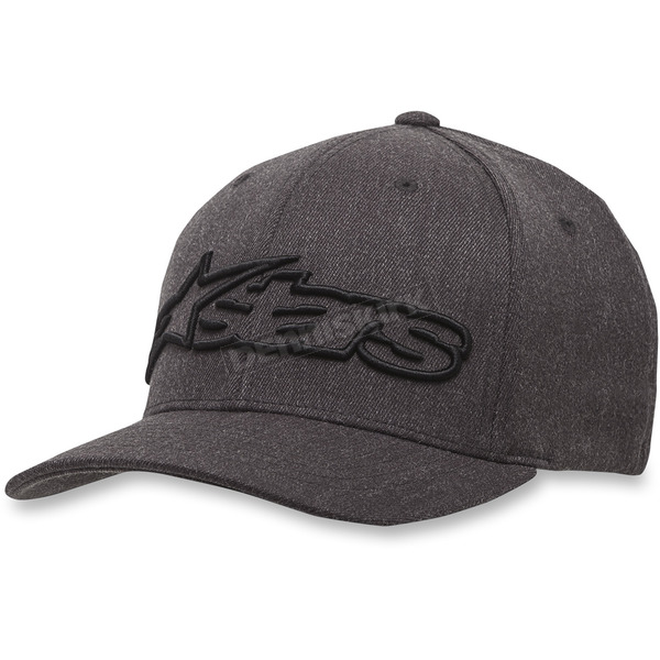 Alpinestars Gray/Black Blaze Flexfit Hat - 1039810051751SM