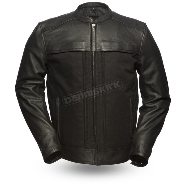 First Manufacturing Co. Invader Leather Jacket - FIM-294-CSLZ-5X-M-3X