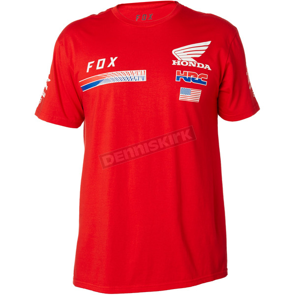 Fox Honda HRC USA T-Shirt - 20824-003-M