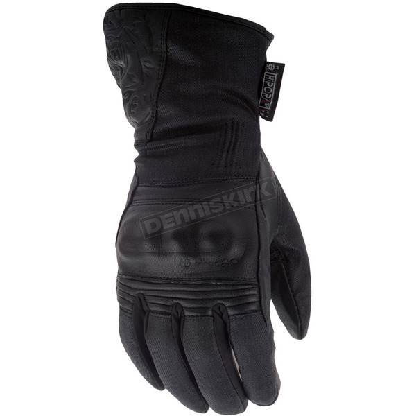 Highway 21 Women's Black Rose Cold Weather Gloves - 489-00962X