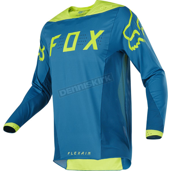Fox Teal Flexair Moth Limited Edition Jersey - 17237-176-L